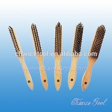 Steel wire brush / brass wire brush OT004