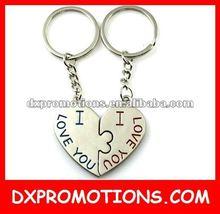 3D Metal key chain/engraved metal keychain/custom metal keyring