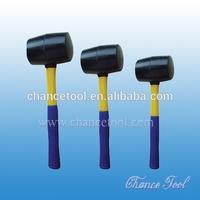 Rubber Mallet With Fiberglass Handle STM016