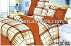 Alibaba china yarn dyed cotton fabric bedding set sexy new product comfortable 6pcs sheet set made in china