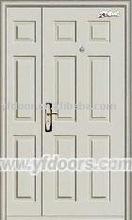 main gate stainless steel white doors exterior