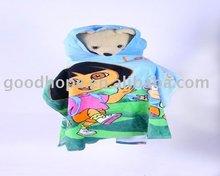 100% cotton Children Hooded Towel, baby cloak