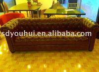 Love chair / leather sofa