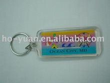 factory direct-sell acrylic rectangle shape keychain