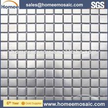 304 grade silver stainless steel metal mosaic tile