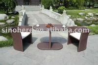 2014 New Furniture Outdoor Wicker Chair Set AK1003