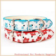 stock low price leather dog collar
