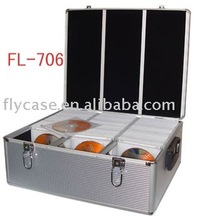 2014 aluminum CD case ,CD box ,CD storage case .aluminum disc case