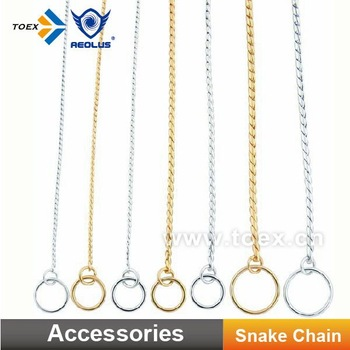 Pet Competition Products Dog Snake Chain