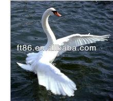 synthetic fur swan