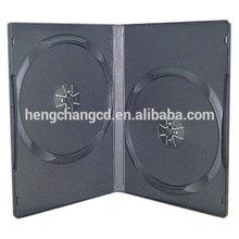 1/2 discs DVD case 14MM BLACK DVD CASE/DVD BOX/DVD COVER