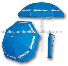 "48""x8 cheap advertising pepsi beach umbrella"
