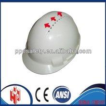 PE Ventilation industrial safety cap CE EN397 ANSI Z89.1