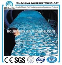 Cylinder Acrylic fish aquarium