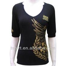 Fashion women slim fit t shirt
