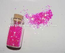 Glitter powder on fashion/children's socks