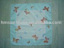 100% cotton ladies printed handkerchief