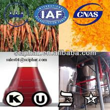 Naturally anti-oxidant Carrot extract Beta-Carotene