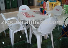 ZTC-121 ZTC-108 Plastic outdoor furniture(table & chair & stool)