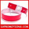 printing plastic bracelet/OEM id plastic bracelet