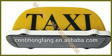 DC 12V yellow taxi box