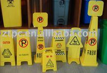 ZTD-018A plastic warning sign, notice sign, warning board