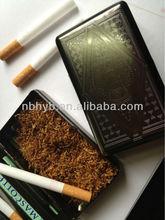 black tobacco box smoking case portable cigarette case