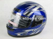 custom cheap purple Full Face Helmet DF-905
