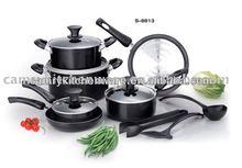 13pcs aluminum cookware Set