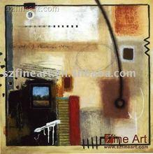 a mano a casa decorazione cubismo astratto pittura a olio