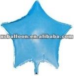 2012 hot star shape foil balloon