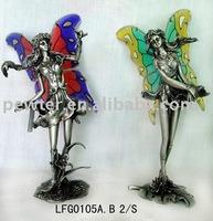 metal fairy toy fairy zinc alloy fairy