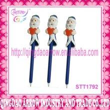 Fashion promotional christmas ball pen