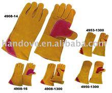 welder gloves, premium leather