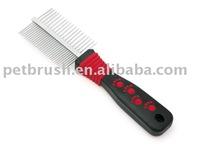 pet comb/dog plastic comb /steel pet comb
