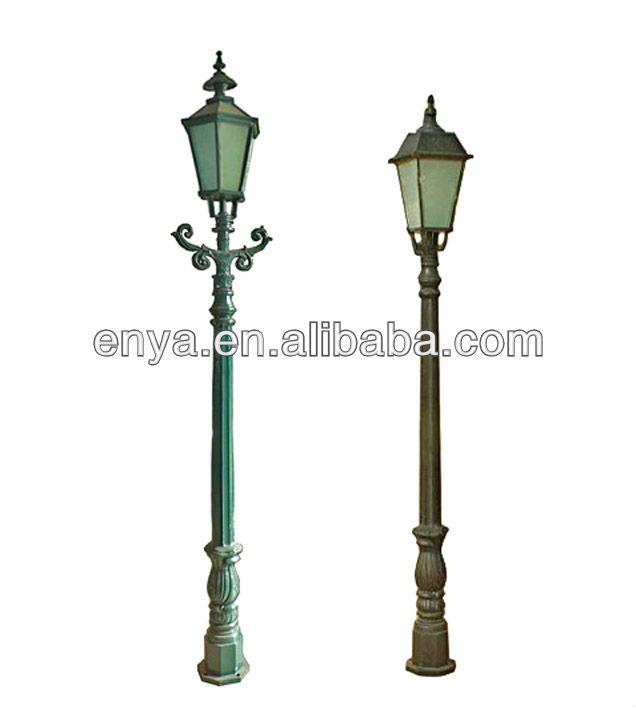 Lampe de jardin de poste lampadaire rue clairage for Lampadaire exterieur rue