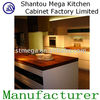 Waterproof wood pvc kitchen cupboard