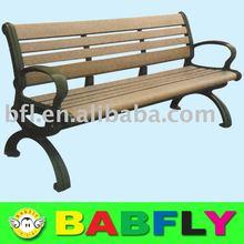 outdoor leisure bench wooden leisure bench