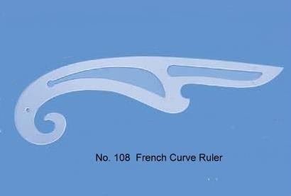 De corte y confección gobernante / regla de curva francesa / de corte Super - escala