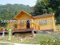 Gran casa de madera / villa