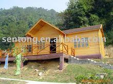 great wooden house/villa