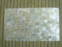 PAP804 White mother of pearl shell sheet shell laminate