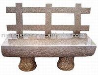 Garden Granite Bench ( Landscaping Granite Bench , Outside Granite Bench)