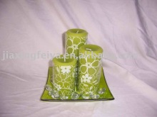 printing candle set
