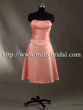 BM0819 beaded scalloped short evening dress 2012