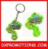 pvc keyring/promotional key ring