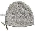 Sombrero de acrílico, sombrero hecho punto, gorro
