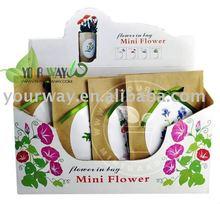 kraft paper bag flower,mini flower,promotional gift