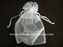Organza pouch with drawstring for gift