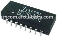 RJ45 connector single transformer /Single Port Tab-Down RJ45 Shield PCB Jack